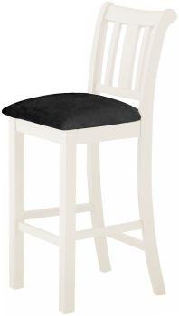 Stratton White Dining Chair Bar