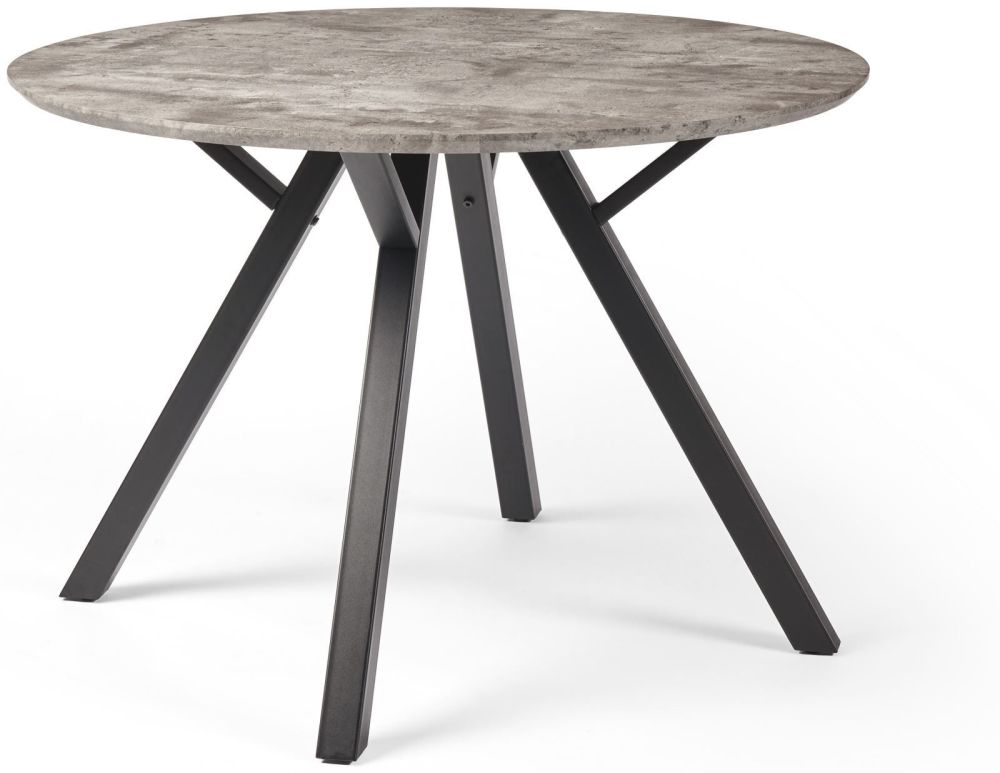 Zarco Dining Table  H 76 x W 110 x D 110