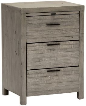 Arizona 3 Drawer Bedside