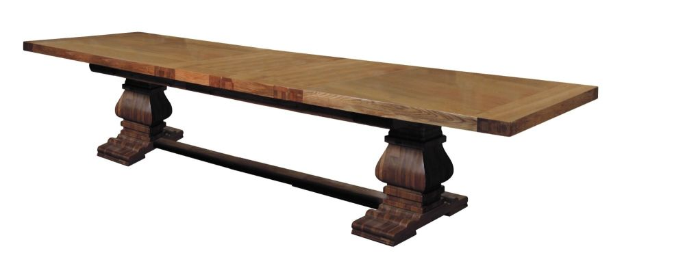 Oak Monastery Dining Table