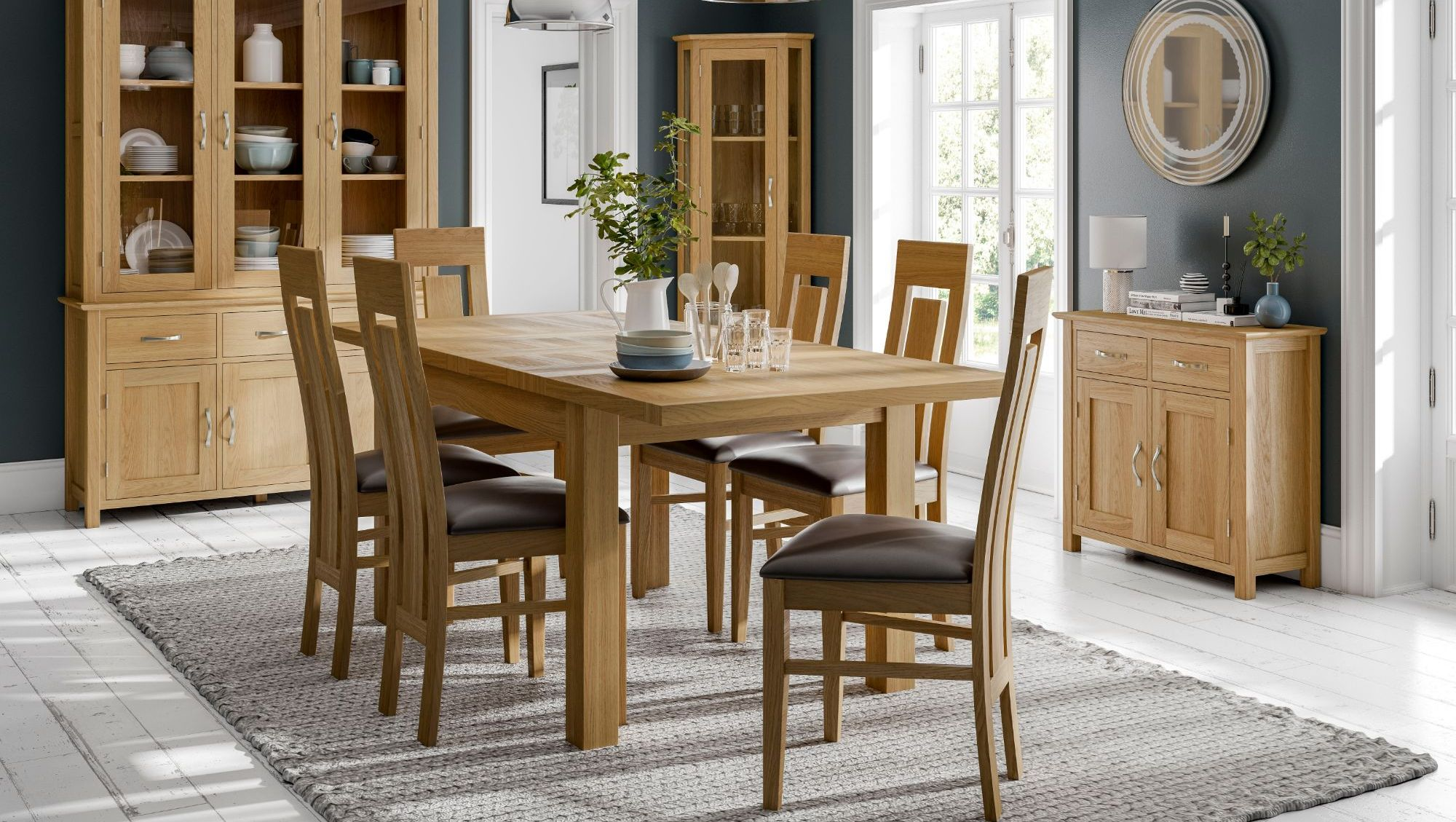 Katharine Solid Oak Dining Room Range