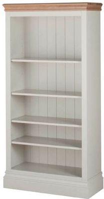 Lundel Bookcase 5ft Truffle Oak