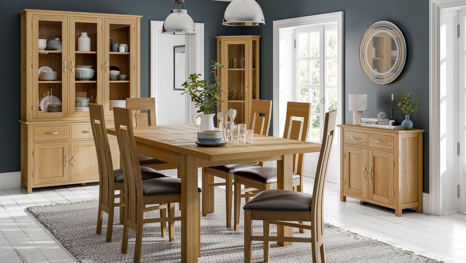 NEW OAK DINING