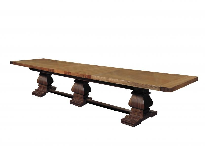 Monastery Extending Dining Table 350mtr Extends 400mtr or   450mtr