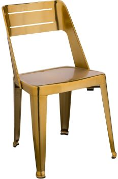 Blake Dining Chair Brass