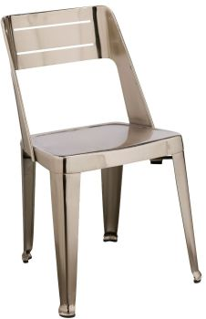 Blake Dining Chair Nickel