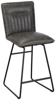 Tommy Bar Stool Grey
