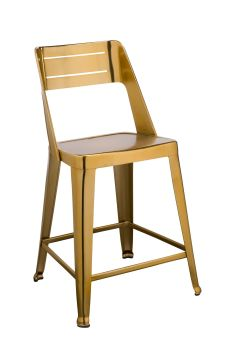 Blake Bar Stool Brass