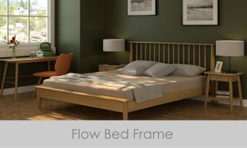Flow Bed Double Frame Oak