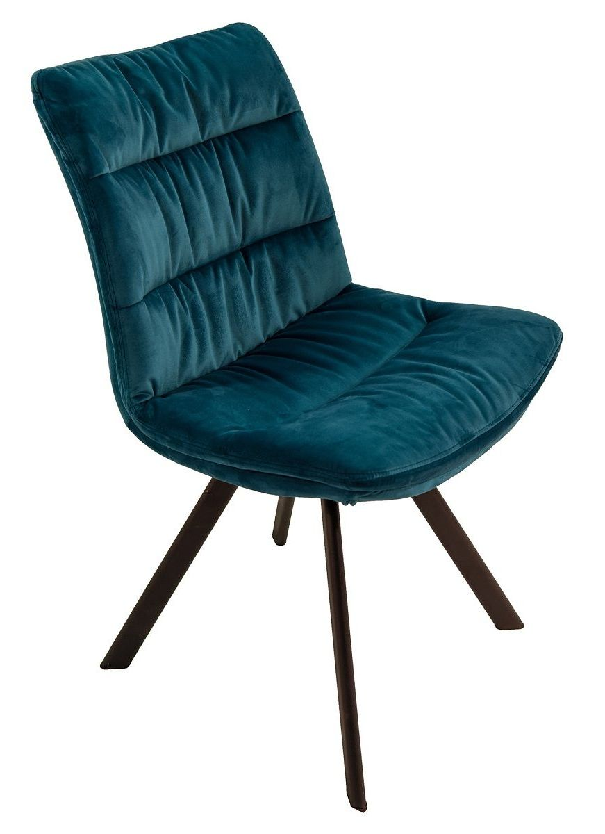 Leah Dining Chair in Teal