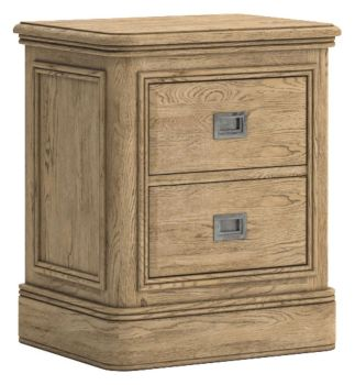 Chamonix Oak Chest Bedside