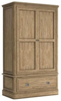 Chamonix Oak Wardrobe Double