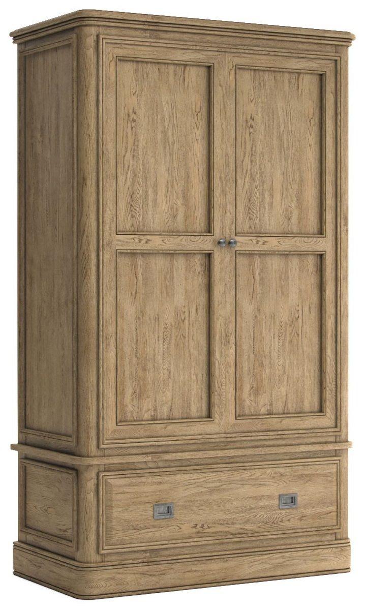 Chamonix Oak Wardrobe Double