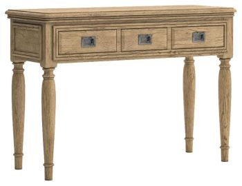 Chamonix Oak Dressing Table