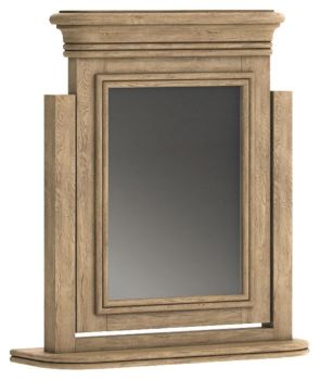 Chamonix Oak Mirror Dressing Table