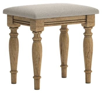 Chamonix Oak Dressing Table Stool