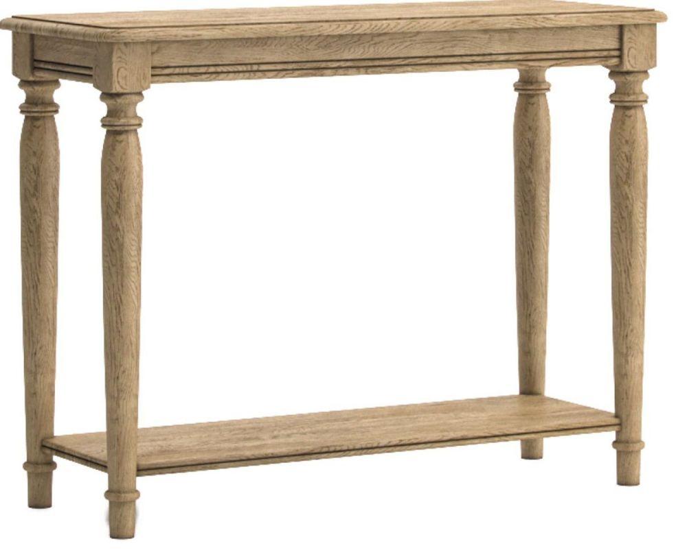 Chamonix Oak Console Table