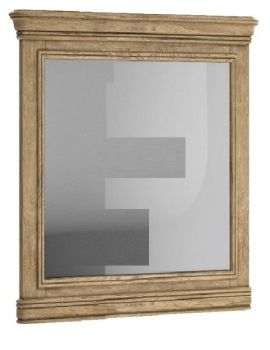 Chamonix Oak Wall Mirror Portrait