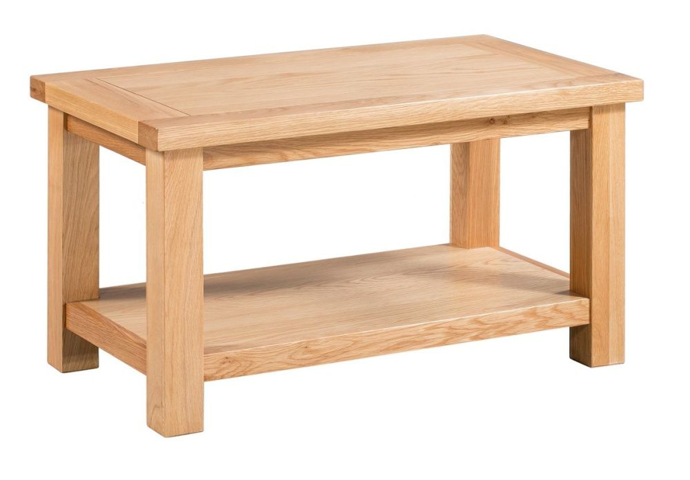 New Amber Oak Small Coffee Table