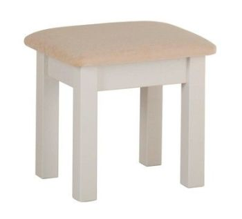 Amelia Dressing Table Stool Truffle Finish