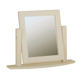 Amelia Dressing Table Mirror Swing Ivory & Oak