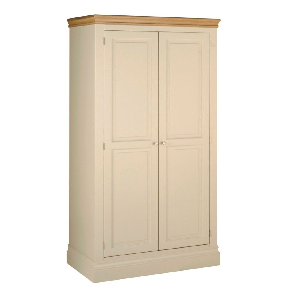 Amelia Robe Double Door Ivory & Oak