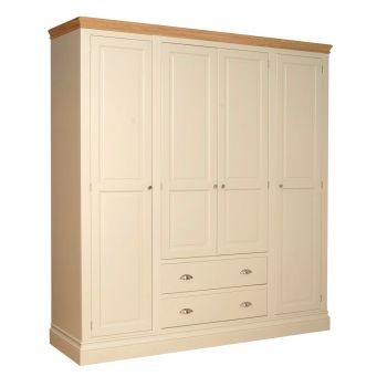 Amelia Robe Grand Quad Ivory  Oak