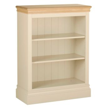 Amelia Bookcase 3ft  Ivory & Oak