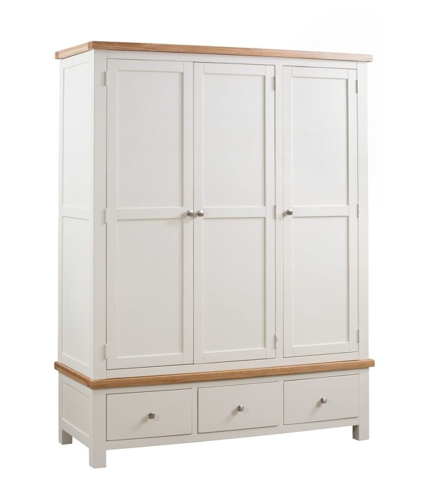 Robe Triple with Drawer