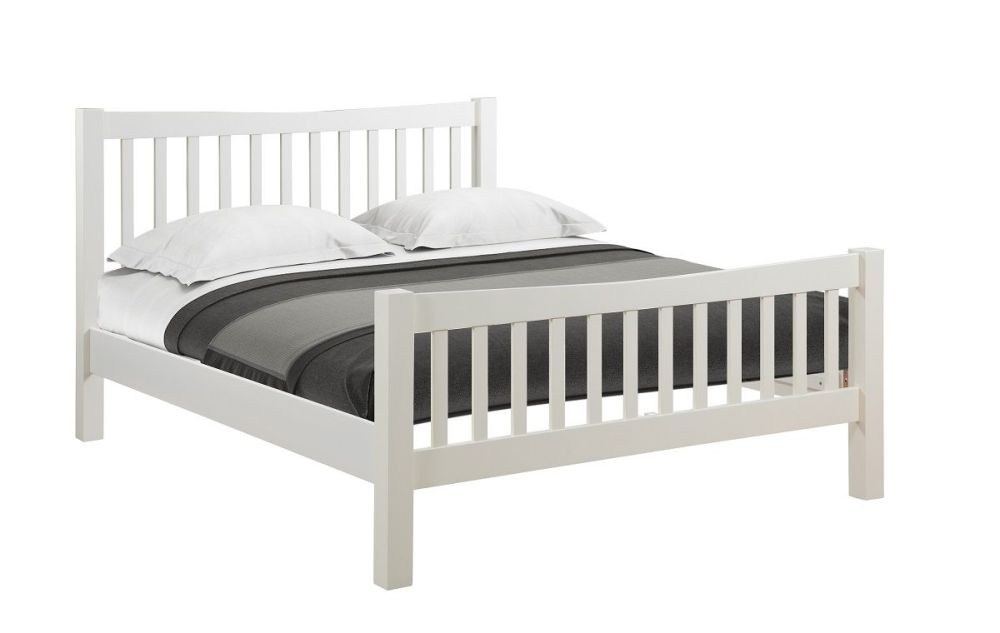 New Amber Painted Bed Frame Double