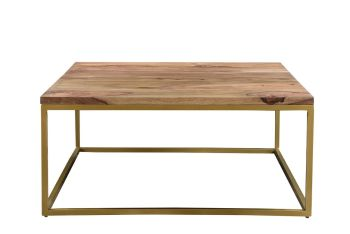 Enfield Coffee Table Gold  Frame
