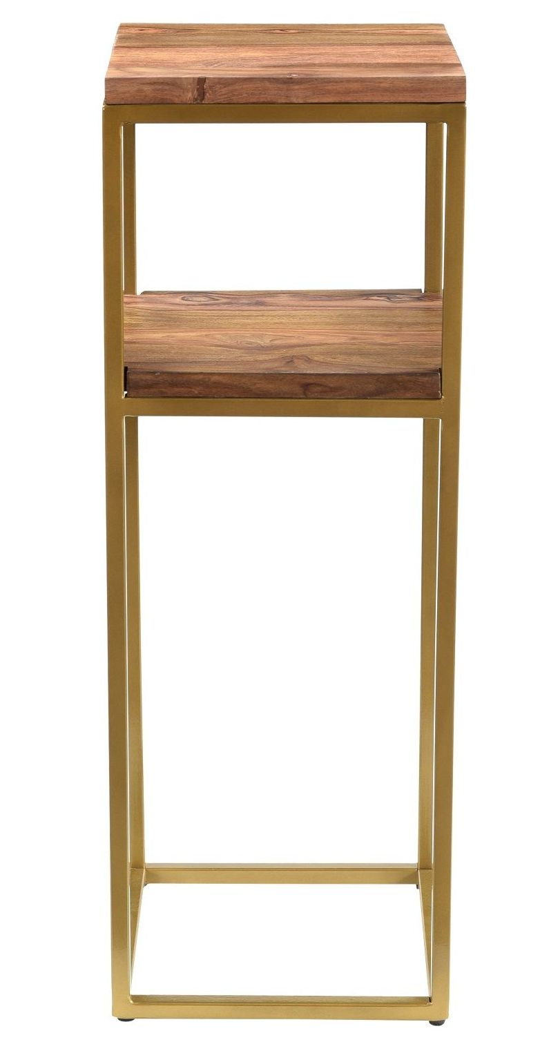 Enfield Plant Stand Gold Frame