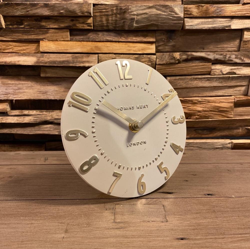 "6"" Mulberry Mantel Clock Goldfinch"