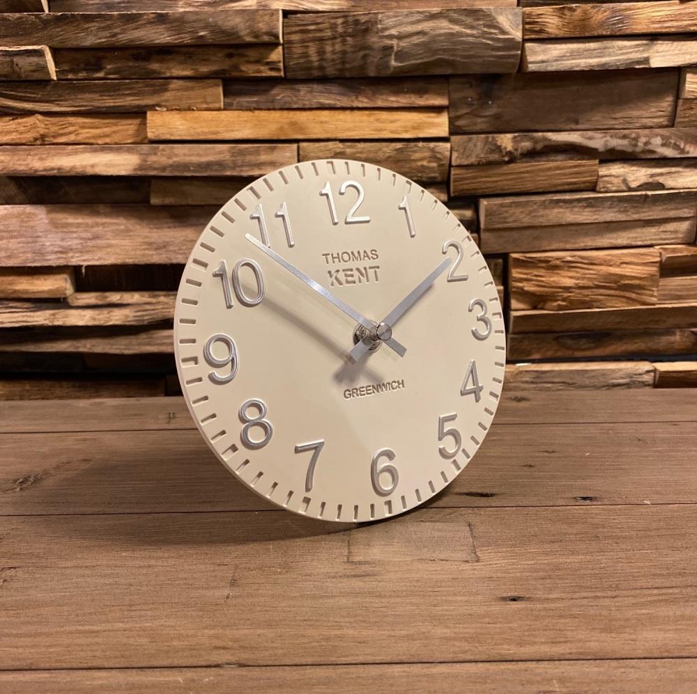 "6"" Cotswold Mantel Clock Snow White"
