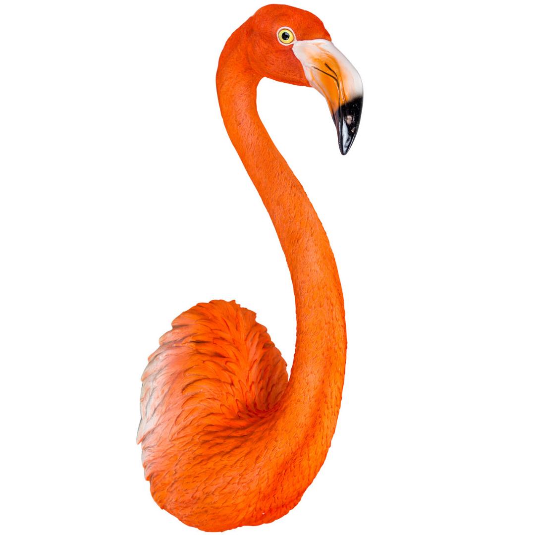 Wall Mounted Flamingo