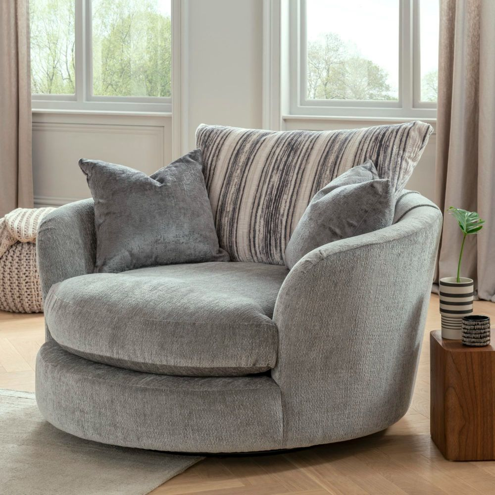 Monza Snuggler Swivel Chair (made in the U.K)