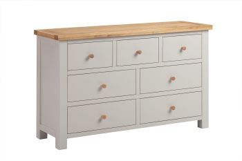 New Amber Chest 4 Over 3 Drawer Putty