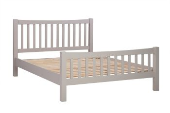 New Amber Bed King Size Putty