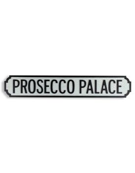 Antiqued Wooden Prosecco Palace Road Sign