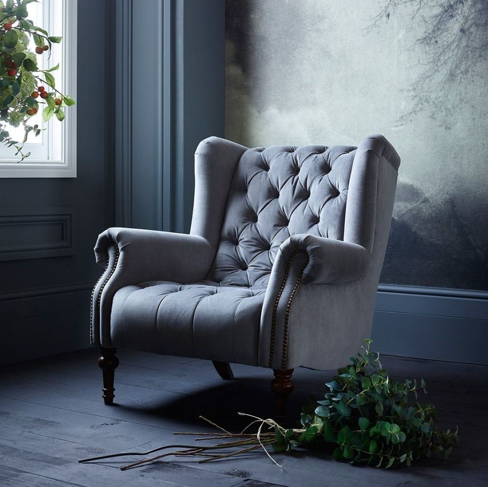 Teo Button Back Chair