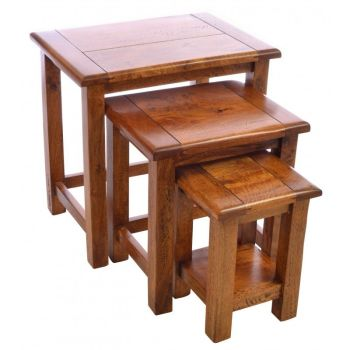 East Indies Nest of Tables