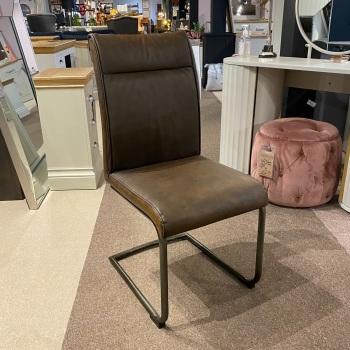 Dining Chair  Vintage Brown