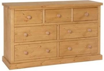Tuscany Chest  3 over 4 Wax Finish