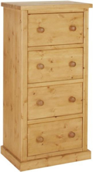 Tuscany Chest Wellington 4 Drawer Jumper Wax Finish