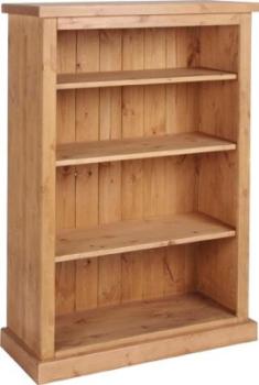 Tuscany Bookcase 4ft Antique Wax Finish