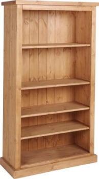 Tuscany Bookcase 5ft Antique Wax Finish