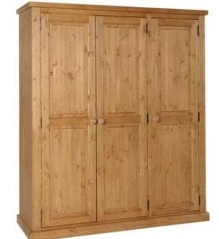 Tuscany Wardrobe Ladies Triple Wax Finish