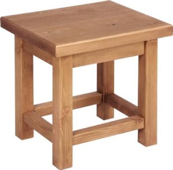 Tuscany Side Table Wax Finish
