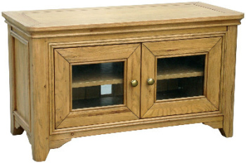 Versaille Oak TV Unit 2 Door