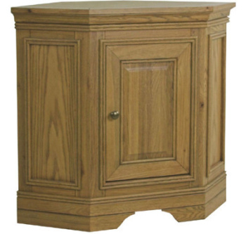 Versaille Oak Corner Base Unit